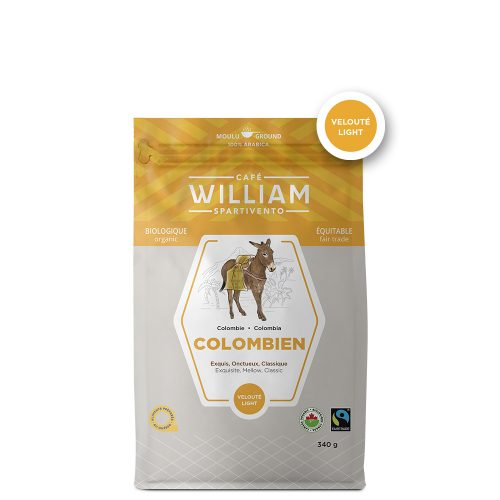 Café William Colombien bio et équitable