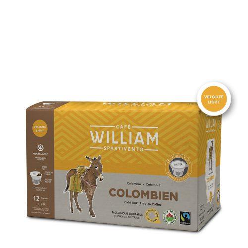 Capsules Colombien bio équitable