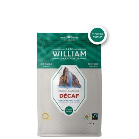 Café William décaf bio et équitable - mouture filtre 340g