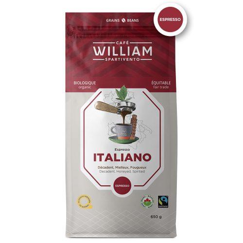 Italiano bio équitable - 650g en grain